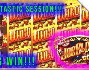NEW SLOT Joe Blow Gold Slot Machine! SUPER BIG WIN SESSION! Super Fun Live Play!