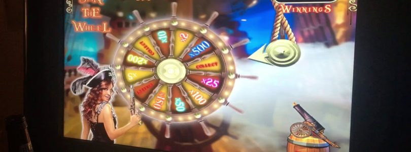 Pirates stacked bonuses free spins big win