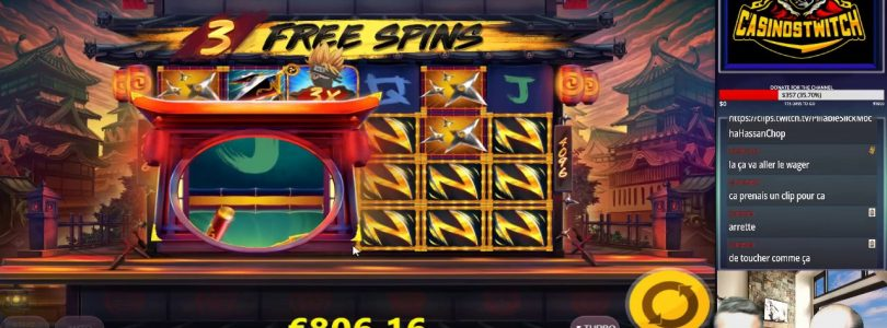 SLOT ONLINE X2020 BEST MULTIPLIER OF THE CHANNEL ULTRA BIG WIN INCREDIBLE ON NINJA WAYS