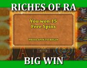 BIG WIN — RICHES OF RA