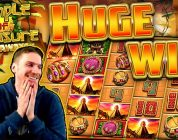 HUGE WIN on Temple of Treasure Megaways Slot — £4 Bet