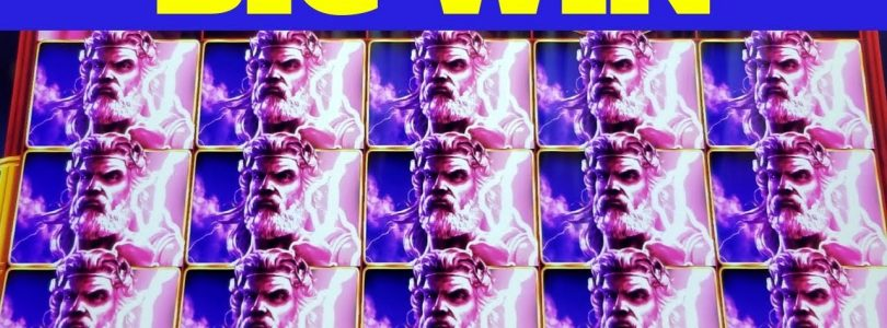 Zeus Unleashed & Kronos Unleashed Slot Machines BONUSES Won & BIG WIN | Max Bet Live Slot Play