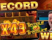 MUST SEE TEMPLE OF TREASURE INSANE BONUS!! Win Multiplier Record!!??