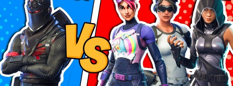 Fortnite ITA — STEF VS PHERE NAT E HENI — 1 VS 3 CHALLENGE!!