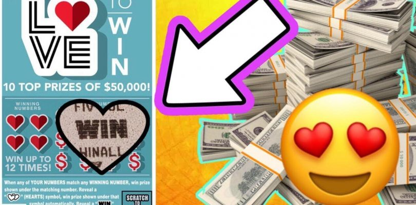 WOW LOOK AT THIS BIG WIN! WIN ALL SYMBOL! $5 LOVE TICKET!