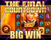THE COUNTDOWN FREE SPINS — BIG WIN ON THE FINAL COUNTDOWN — BIG TIME GAMING