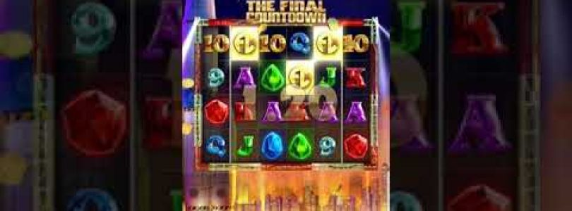 "PLAYING THE NEW BTG SLOT ""THE FINAL COUNTDOWN"" BIG WIN INCLUDED!!!"