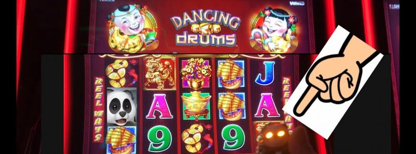 Bonuses for everyone! Big win on Dancing Drums. A great time with my slot neighbors!