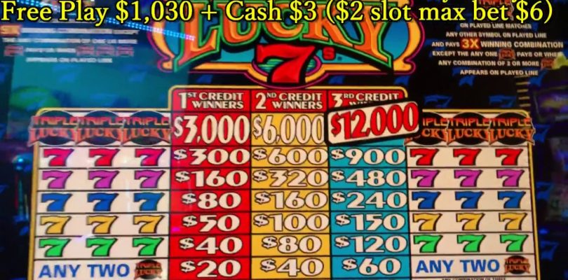 Big Win★Triple Lucky 7's, Triple Double Red Hot, Triple Double Stars, Cosmopolitan LasVegas, Akafuji