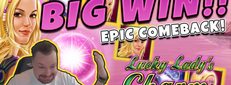Huge Win! Lucky ladys charm BIG WIN — Epic Win on Casino games from Casinodady