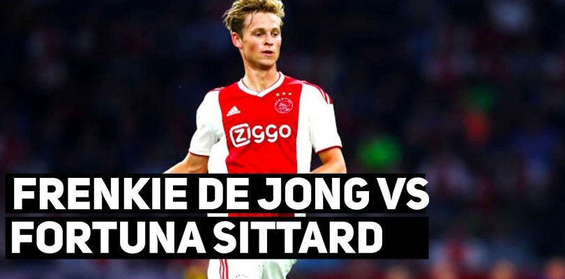 Frenkie De Jong vs Fortuna Sittard ● Every Touch ● Ajax vs Fortuna Sittard 4-0 10/03/2019 ● 1080p
