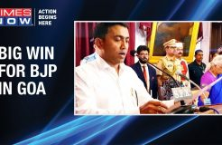 Big win for BJP in Goa; Pramod Sawant becomes the new Chief Minister