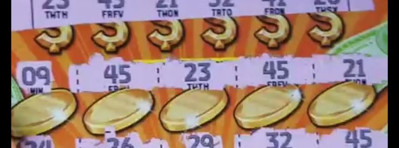 BIG WIN! 25 MATCHES! 120 SESSION! TEXAS LOTTERY SCRATCH OFF TICKETS!