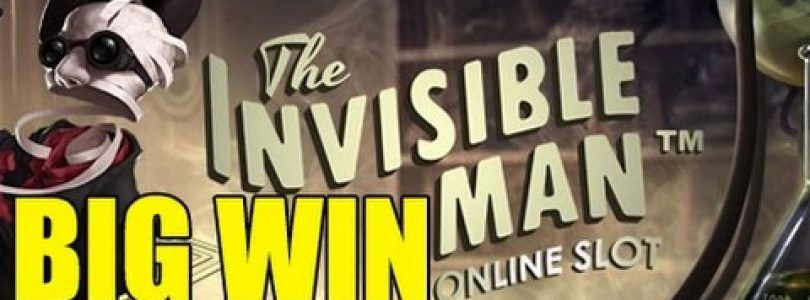 Online slots HUGE WIN 14 euro bet — Invisible Man BIG WIN epic reactions