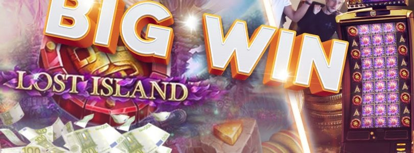 BIG WIN!!!! Lost Island Big win — Casino — Bonus Round (Huge Win)