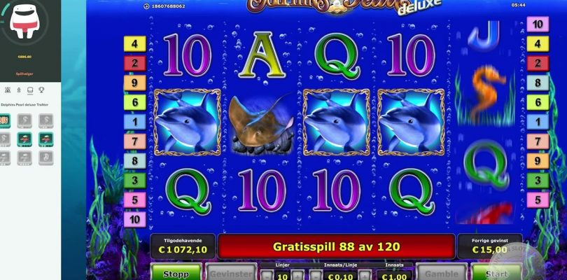 Super Big Win on Dolphin's Pearl Deluxe, played on Casumo