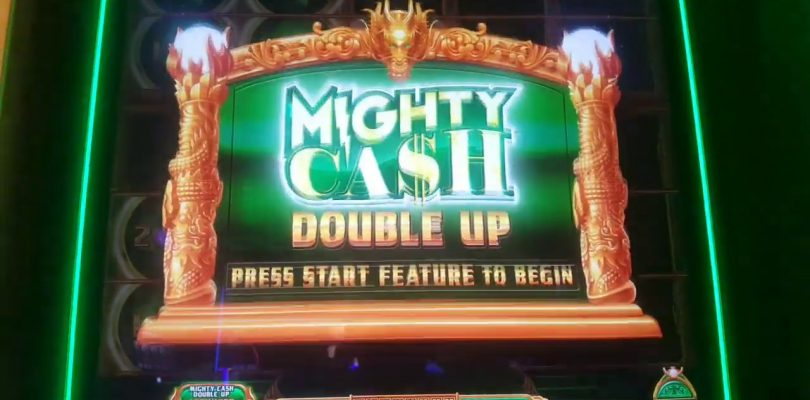 MIGHTY CASH DOUBLE UP / $7.50 MAX BET BONUS BIG WIN.