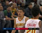 Trae Young Leads Team With 23 Points in Big Win Over Jazz