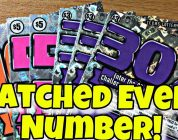 MATCHED EVERY NUMBER!! BIG WIN! $10 100X, $5 50X Texas Lottery Tickets