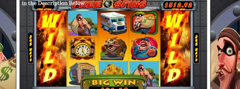 Epic Win on Bust the Bank Slot from Microgaming, Big Win