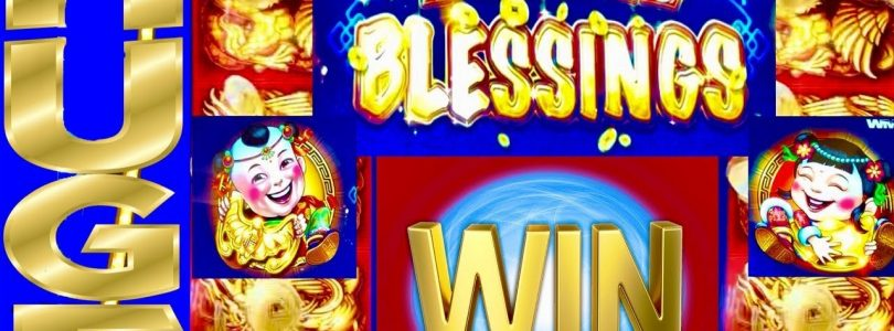 HUGE WIN! $$$ DOUBLE BLESSINGS★AWESOME FIRST ATTEMPT ★NAILED IT★ CASINO GAMBLING