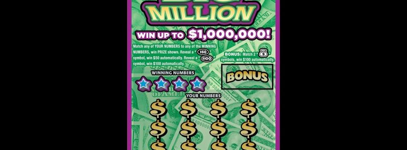 $5 BIG MILLION NICE WIN! Lottery Bengal Scratch Off instant tickets   NEW TICKET TUESDAY! NICE WIN!