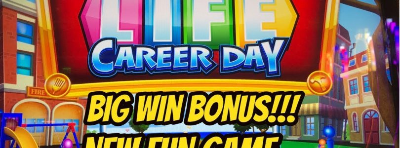 BIG WIN!  NEW FUN GAME! GAME OF LIFE CAREER DAY
