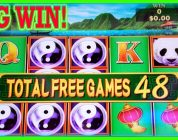 WHEN FREE GAMES LEADS TO BIG WIN ON CHINA SHORES ➡️ Deja Vu Slots