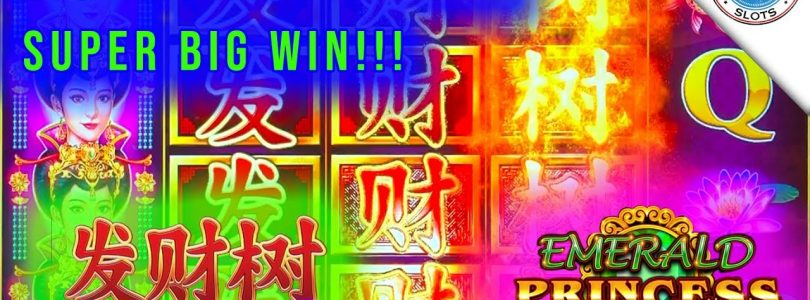 SUPER BIG WIN! Emerald Princess Fa Cai Shu New Slot! Max Bet Bonus!