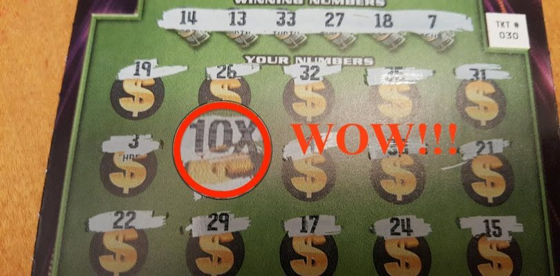 ❤ Big Win ❤ — $4,000,000 Bonus Cash scratch off Tickets $10 Massachusetts