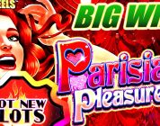 NEW SLOT | PARISIAN PLEASURES SLOT MACHINE BONUS BIG WIN Konami Slots