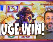 IT'S MY 2nd BIGGEST BUFFALO WIN EVER! ✧✧  Lots of slot machine pokie bonus wins!