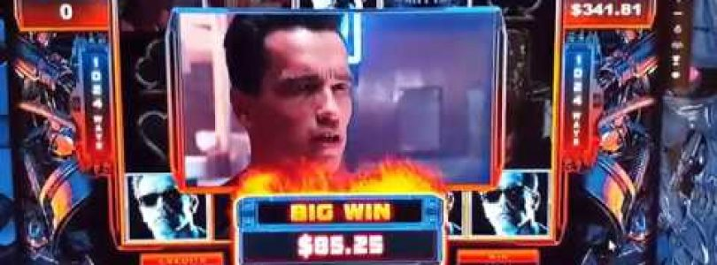 Epic Terminator 2 Slot Hot Mode Big Win Compilation | Microgaming