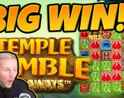 Huge Win! Temple Tumble BIG WIN — Epic Win on Online slots from CasinoDaddy LIVE Stream