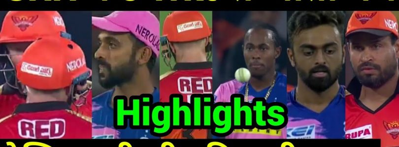 IPL 2019: Match 8 SRH Vs RR Highlights, Big Reason of win