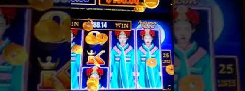Autumn Moon $5.00 bet Big Win Dragon Link Pokie Win