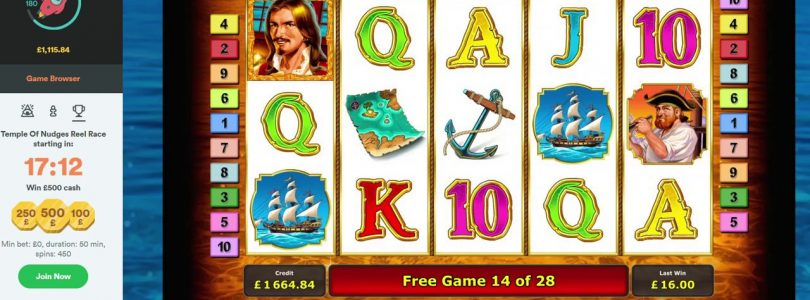 Online Slots — Captain Venture £5 bonus Big Win Or Fail?