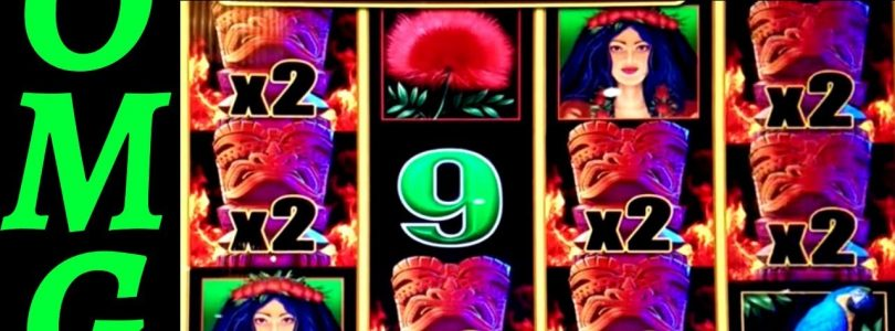Lightning Link Tiki Fire Slot Machine HUGE WIN — ✦MASSIVE SLOT WIN✦ | Gold Stack Slot Max Bet Bonus