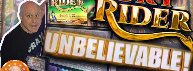 ✦ UNBELIEVABLE JACKPOT! ✦ Sky Rider Pays HUGE!!! | The Big Jackpot
