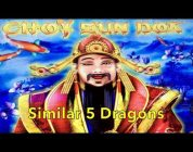 CHOY SUN DOA — 2x Bonus & Big Win — Similar 5 Dragons — Aristocrat Slot Machine Casino Pokie Wins