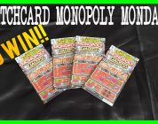 SCRATCHCARD: Monopoly Monday #1 BIG WIN!
