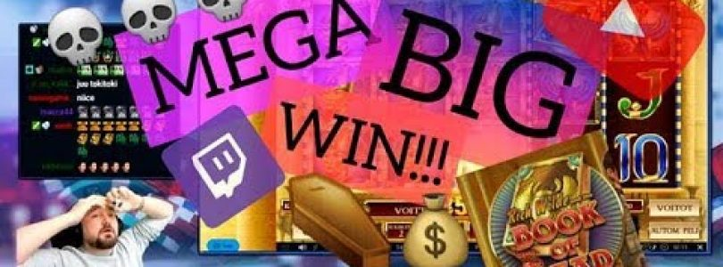 Big Bet!! Book Of Dead Slot Gives Mega Big Win!!