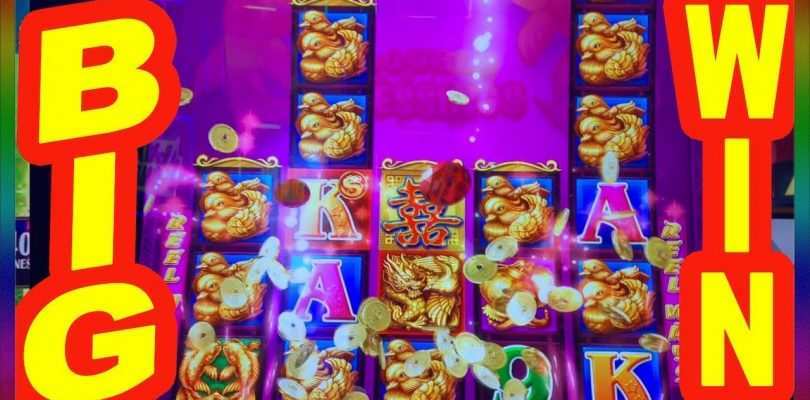** BIG WIN on DOUBLE HAPPINESS SLOT MACHINE  ** SLOT LOVER **