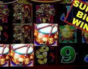 Dancing Drums Slot Machine SUPER BIG WIN | Awesome MYSTERY PICK | Live Slot Play & HUGE WIN