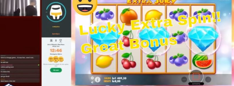 Extra Juicy delivers in the bonus! Big Win