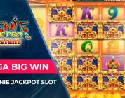 Mega big win in Genie Jackpot slot