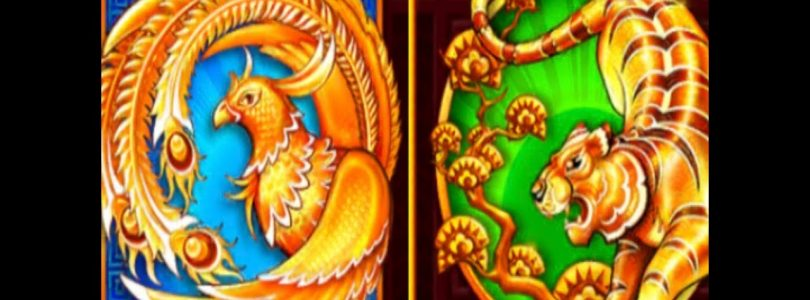 ★BIG WIN !  5 Treasures★ PHOENIX vs TIGER☆5 Treasures Slot (SG)★@ San Manuel Casino☆彡栗スロット