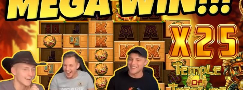Temple of Treasure BIG WIN — HUGE WIN on Casino Game from CasinoDaddy