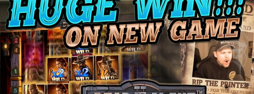 MEGA WIN!!!! Dead Or Alive 2 BIG WIN — HUGE WIN on NEW NetEnt Slot from CasinoDaddy