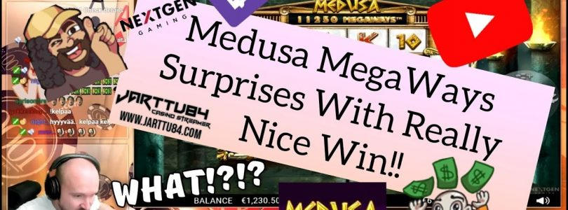 Medusa MegaWays Surprises With Really Nice Win!!